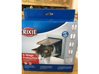 Brand new unopened Trixie 4 way cat flap