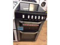 #12 New Ex-Display Belling FSG50DO Silver 50cm Gas Cooker £329