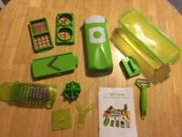 Nicer Dicer Plus Cutter Slicer Chopper & Container