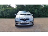TOYOTA YARIS 1.3 TR 58 PLATE 2008 1P/OWNER 81000 MILES FULL TOYOTA SERVICE HISTORY AIRCON ALLOY 5DR