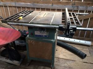 King Table saw looking for trades