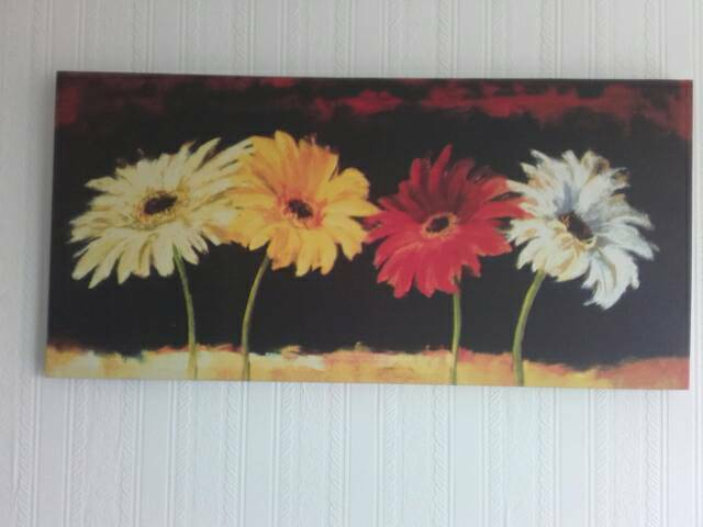 Picturein Plymouth, DevonGumtree - Canves picture of flowers