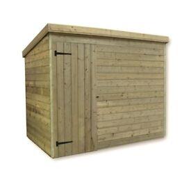 6 x 4 garden shed