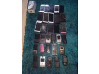 JOBLOT OF MOBILE PHONES (FAULTY)