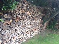 Firewood in North Devon, excellent loads with delivery m2 bags or more log burner fire wood
