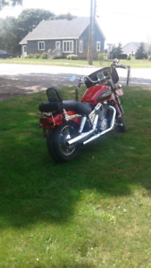 2000 Honda shadow  1100 cc