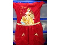 Brand new with tags x2 girls 3-4 years Disney character nightwear dresses