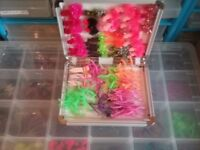 NEW FLY BOXES WITH 80 FLIES IN EACH ONLY TWO LEFT
