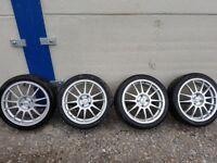 17inch alloy wheels.