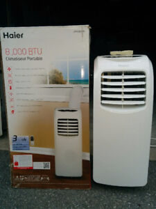 Haier 8,000 BTU Portable Air Conditioner in Perfect Condition