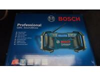 Bosch site radio ( not dewalt makita)