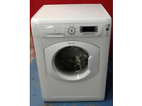 X649 white hotpoint 7kg 1400spin washing machine comes with warranty can be delivered or collected