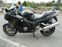 Honda CBR 1100 XX Blackbird, 1999 T Registered