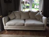 Cream Knoll Sofa