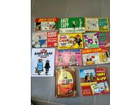 Andy Capp vintage cartoon compilation- Bundle of 11 paperbacks