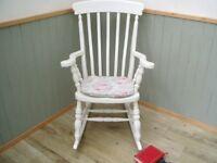 Stunning Pine Rocking Chair.