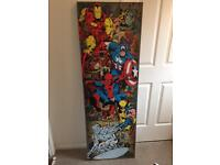 Large marvel canvas £10