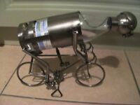 Cyclist Wine Bottle Holder