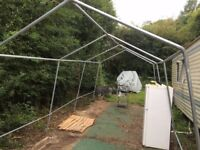 party tent frame 6m by4m, galvanised steel,used good condition