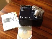 Panasonic camera- Very good condition. Complete with original box, leads, cd roms and instructions