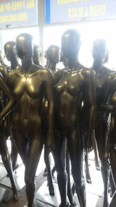 NEW AND USED FEMALE MANNEQUINS STARTING AT $50