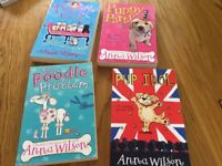 Anna Wilson books pup idol, puppy party, puppy power, poodle problem