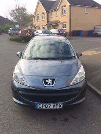 Peugeot 207 1.6 Diesel - Good Runner, New MOT