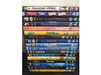 17 x CHILDRENS / DISNEY DVDS