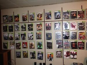 Xbox PS3 DVDs vhs tapes games 3and up