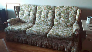 Couch and Matching Chair Combo