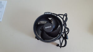 AMD wraith spire cooler avec led