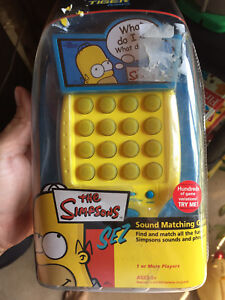 The Simpson Simon says game brand new