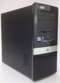 WINDOWS 7 HP PRO 3120 TOWER COMPUTER - DUAL CORE 3.06GHZ - PC - 4GB RAM - 500GB