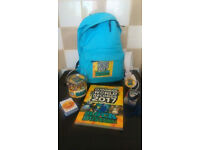 Guinness Book of Records Rucksack with Accessories -Brand new