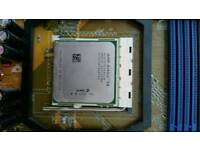 AMD Athlon 64 with heatsink & fan