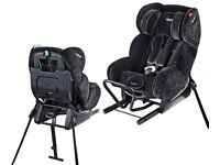 1 - 4 years ERF Recaro Polaric Extended Rear Facing Isofix Car Seat MUCH SAFER THAN FORWARD FACING
