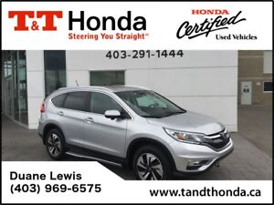 2015 Honda CR-V Touring* No Accidents, Navi, Bluetooth/USB*