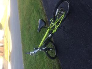 Boy's Bike Lime Green
