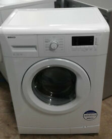 O820 white beko 6kg 1400spin A+ rated washing machine comes with warranty can be delivered