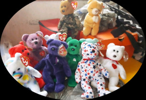 Beanie Babies Lot of 11 excellent  Condition