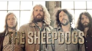 The Sheepdogs @ Jackson Triggs  Friday 18th