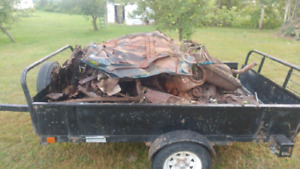 Free scrap metal wanted