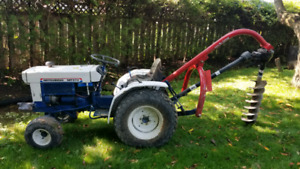 Mitsubishi MT372 compact tractor great for contractors
