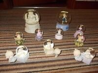 Collection of 10 Fairy/Girls Snow Globes