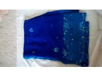 New Dark blue saree