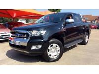 2016 Ford Ranger Limited 3.2 TDCI Double Cab Manual Diesel 4x4