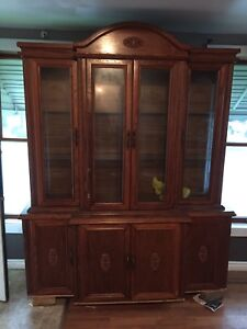 Wood hutch....need gone asap, make an offer