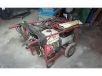 Mobile welder generator