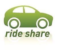 Ride share Cambridge to Windsor @1pm everyday