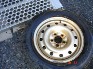 Winter tires on STEEL Rims for a 2012 Toyota CAMRY for SALE